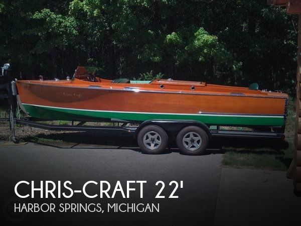 1931 Chris Craft boat for sale, model of the boat is 22 Triple & Image # 1 of 40