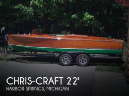 1931 Chris-Craft 22 Triple