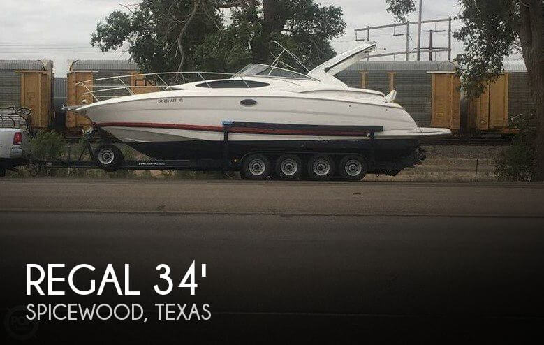 Used Boats For Sale in Killeen, Texas by owner | 2005 Regal 34
