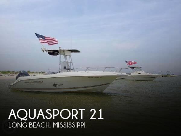 Used Aquasport Boats For Sale by owner   2003 Aquasport 21