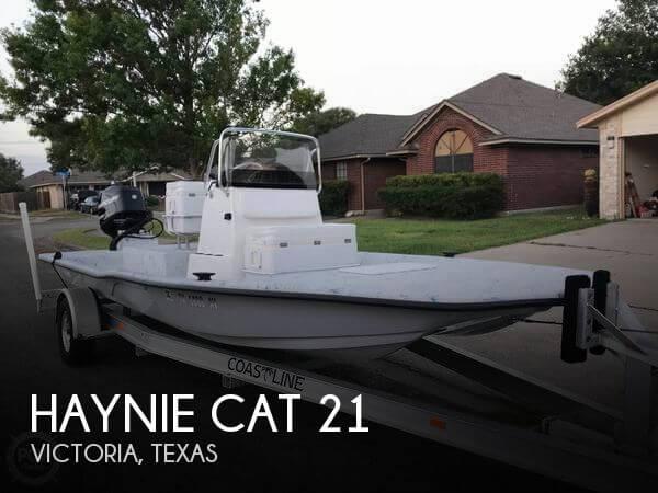 2009 Haynie Cat 21