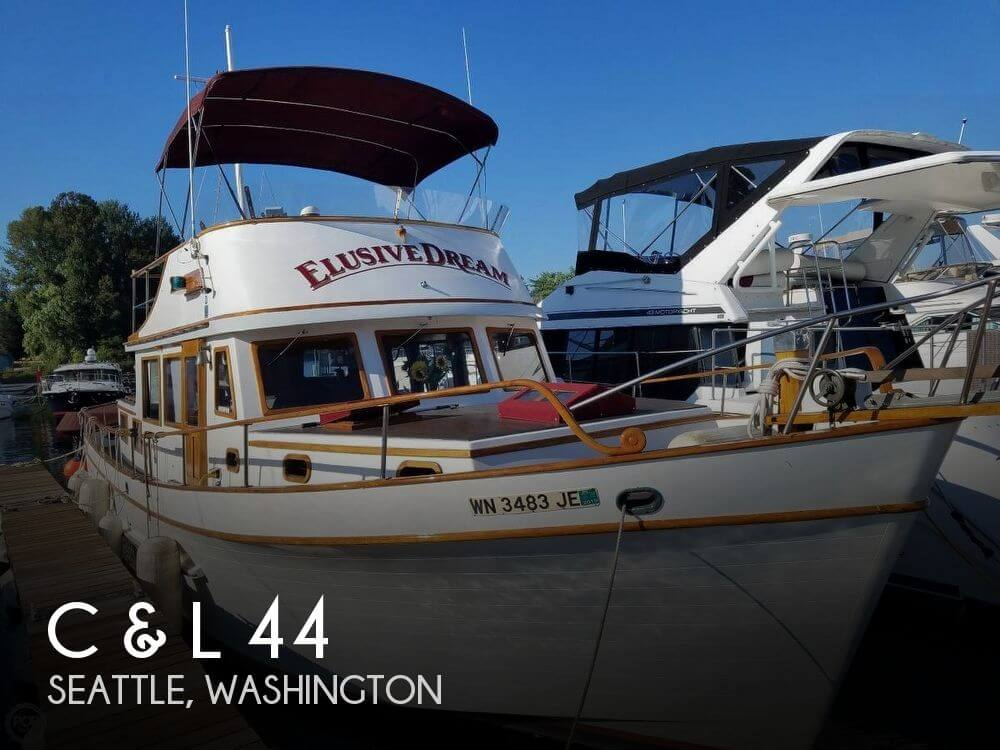 Used Power boats For Sale in Washington by owner | 1978 C & L 44