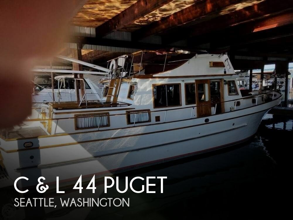 1978 C & L boat for sale, model of the boat is 44 Puget & Image # 1 of 36