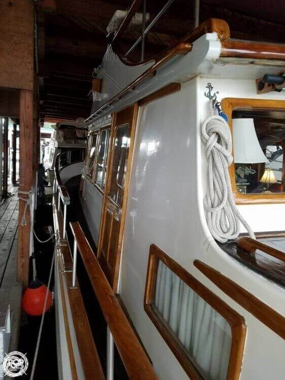 1978 C & L boat for sale, model of the boat is 44 Puget & Image # 10 of 36