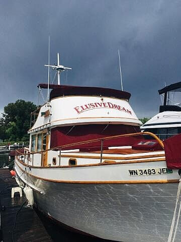 1978 C & L boat for sale, model of the boat is 44 Puget & Image # 21 of 36