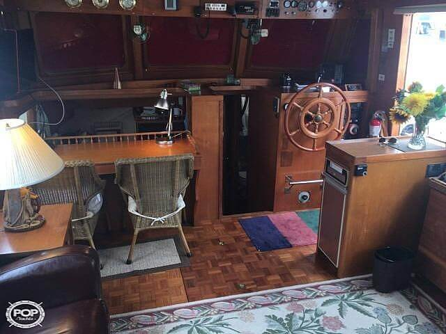 1978 C & L boat for sale, model of the boat is 44 Puget & Image # 4 of 36