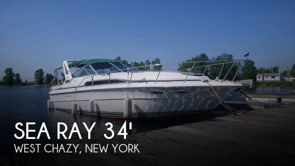 Used Boats For Sale in Burlington, Vermont by owner | 1988 Sea Ray 34