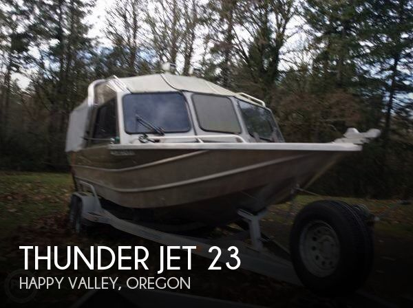 Used Boats For Sale in Portland, Oregon by owner | 2005 Thunder Jet 23
