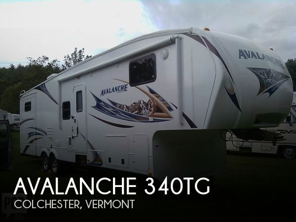 2010 Keystone Avalanche 340TG