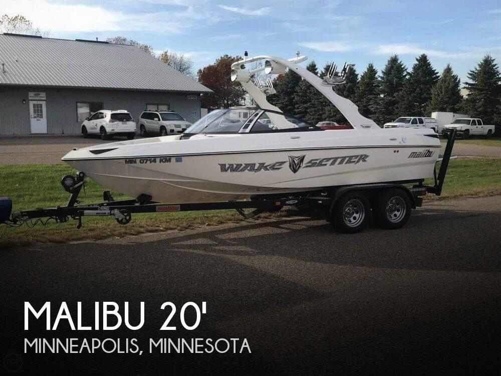 Used Boats For Sale in Minneapolis, Minnesota by owner | 2009 Malibu 20