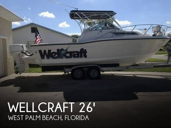 Used Wellcraft 26 Boats For Sale by owner | 1990 Wellcraft 26