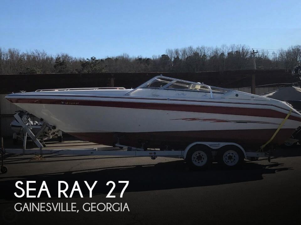 Used Sea Ray Boats For Sale in Georgia by owner   1989 Sea Ray 27