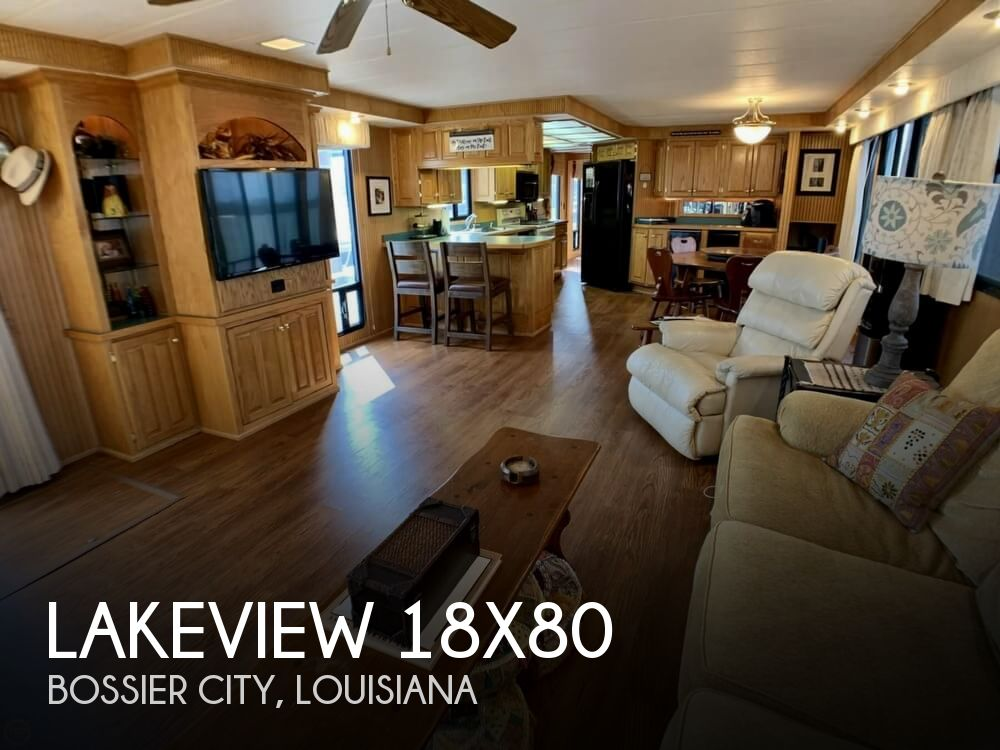 Used Houseboats For Sale in Louisiana by owner | 1996 Lakeview 1880