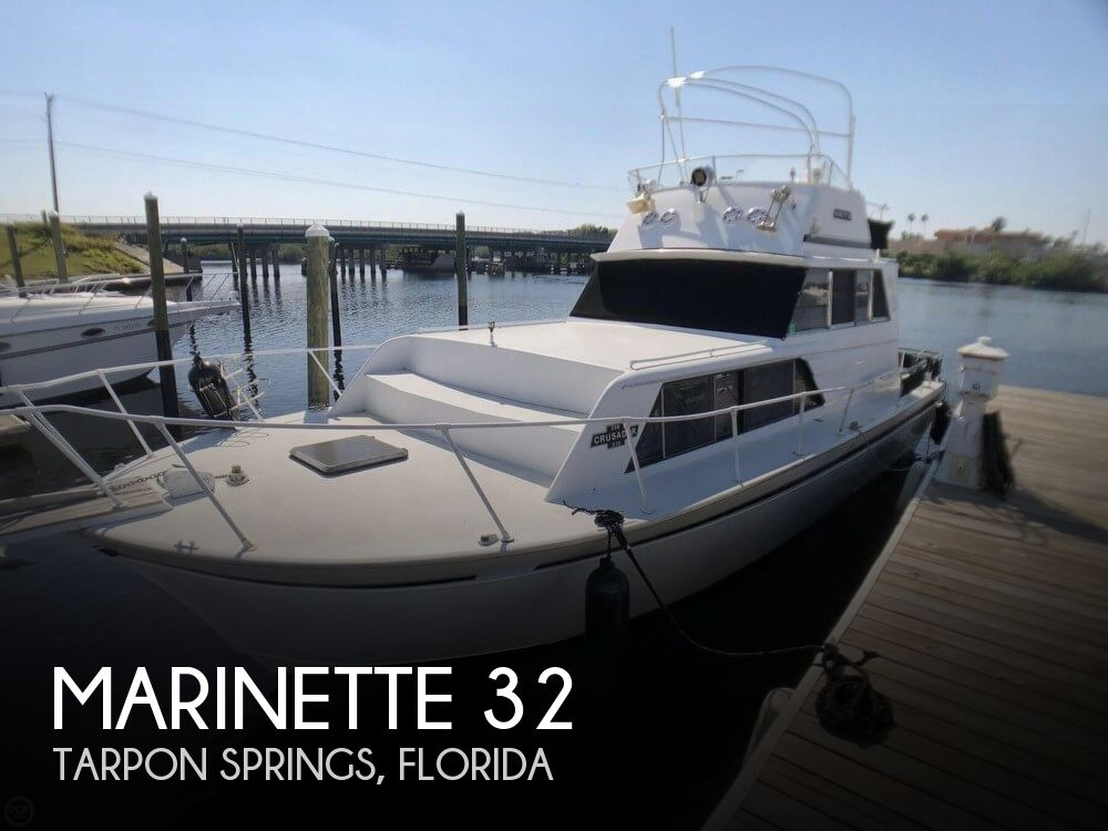 Used Marinette Boats For Sale by owner   1985 Marinette 32