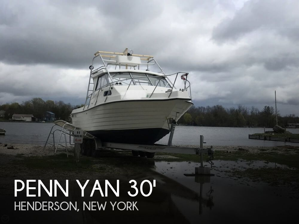 2000 Penn Yan boat for sale, model of the boat is 305 Rampage & Image # 1 of 40
