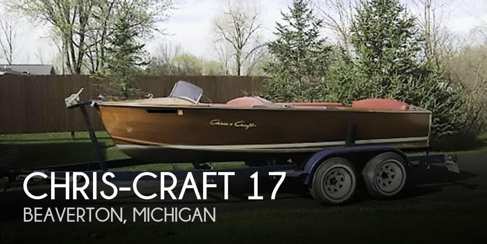 Used Chris-Craft Boats For Sale in Michigan by owner | 1958 Chris-Craft 17