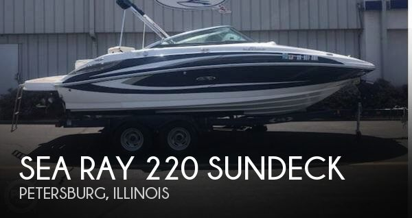 Used Boats For Sale in Springfield, Illinois by owner | 2013 Sea Ray 22