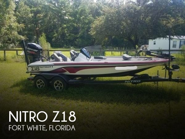2017 Nitro boat for sale, model of the boat is Z18 & Image # 1 of 12