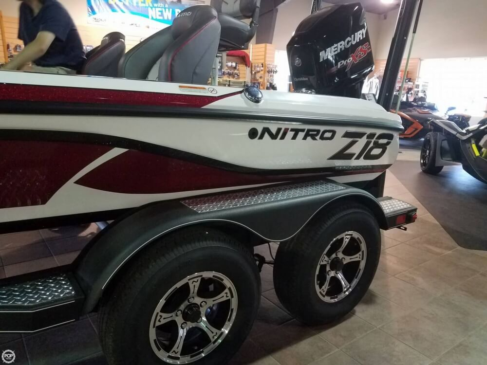 2017 Nitro boat for sale, model of the boat is Z18 & Image # 3 of 12