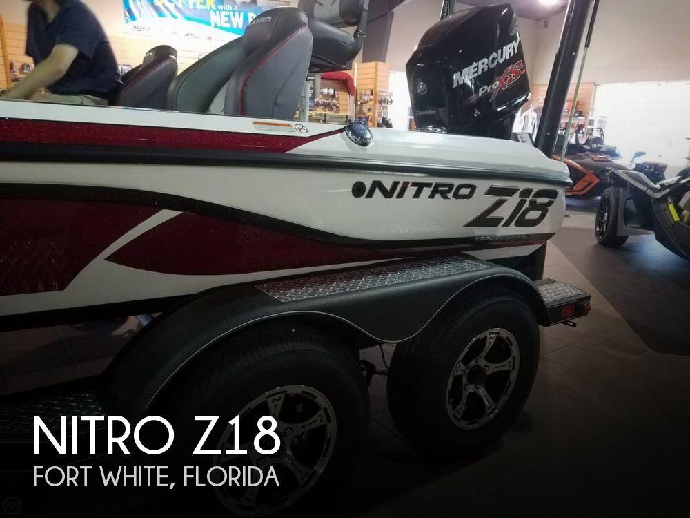 2017 Nitro boat for sale, model of the boat is Z18 & Image # 1 of 12