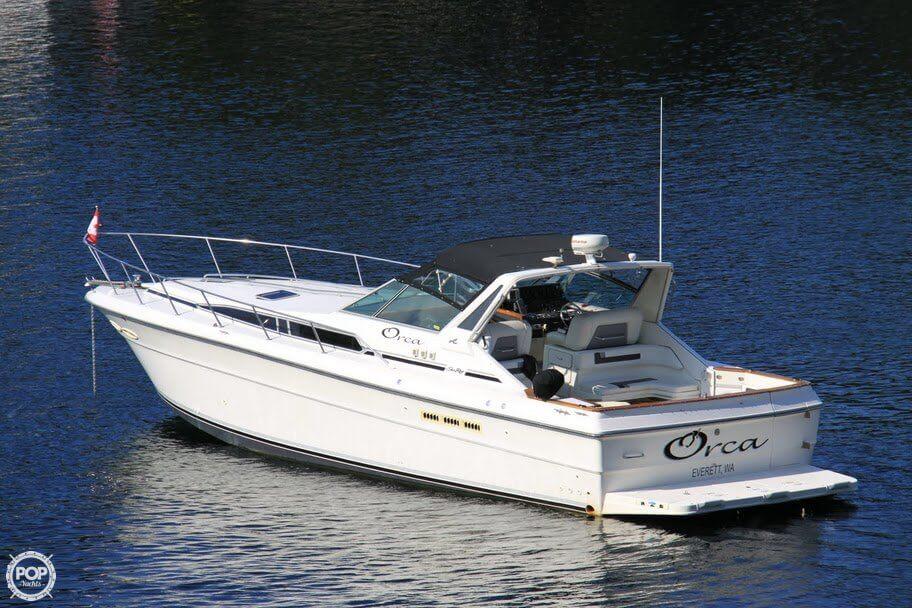 Sold Sea Ray 390 Express Cruiser Boat In Bellevue Wa 174351