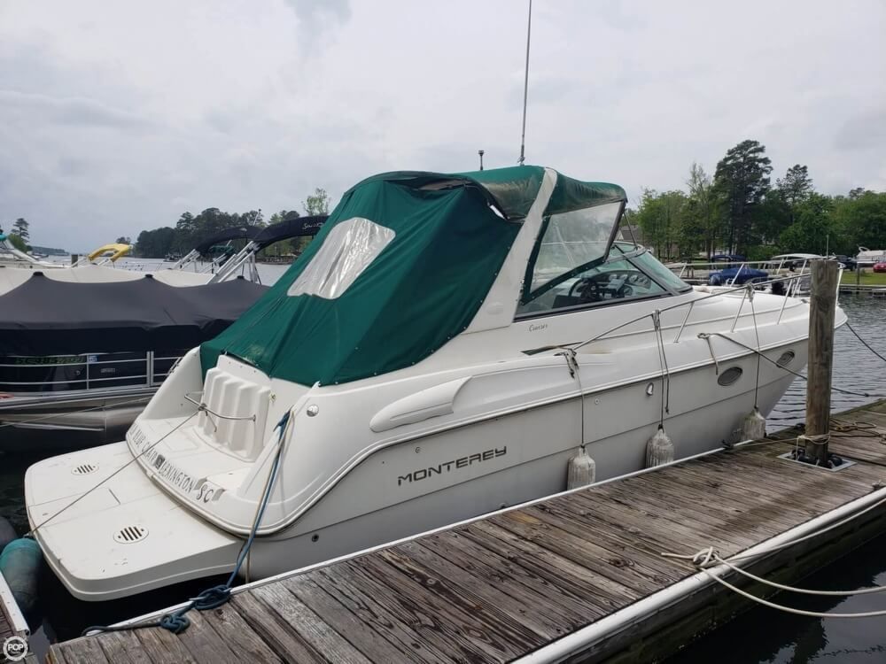 1998 Monterey boat for sale, model of the boat is 322 CR & Image # 17 of 40