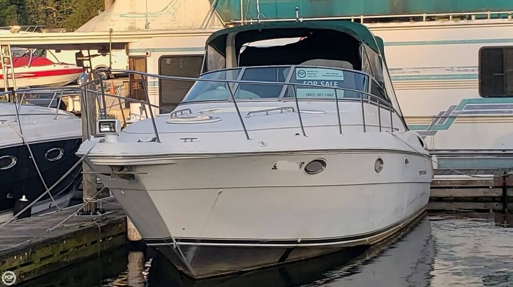 1998 Monterey boat for sale, model of the boat is 322 CR & Image # 36 of 40