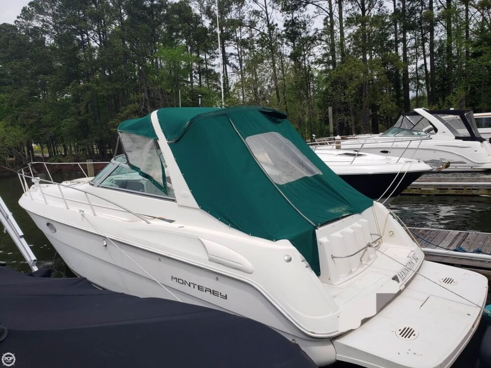 1998 Monterey boat for sale, model of the boat is 322 CR & Image # 19 of 40