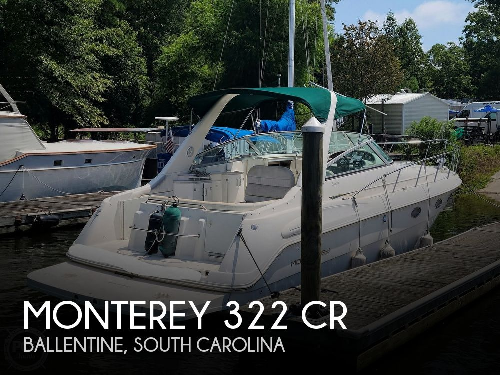 1998 Monterey boat for sale, model of the boat is 322 CR & Image # 1 of 40