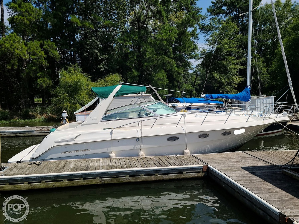1998 Monterey boat for sale, model of the boat is 322 CR & Image # 3 of 40