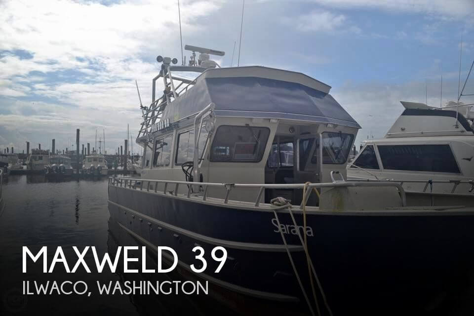 Used Boats For Sale in Washington by owner | 2007 Maxweld 39