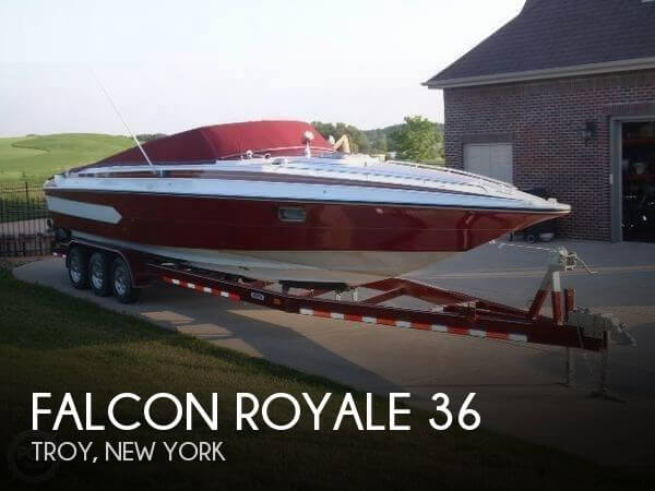 Used Boats For Sale in Springfield, Massachusetts by owner | 1982 Falcon 36
