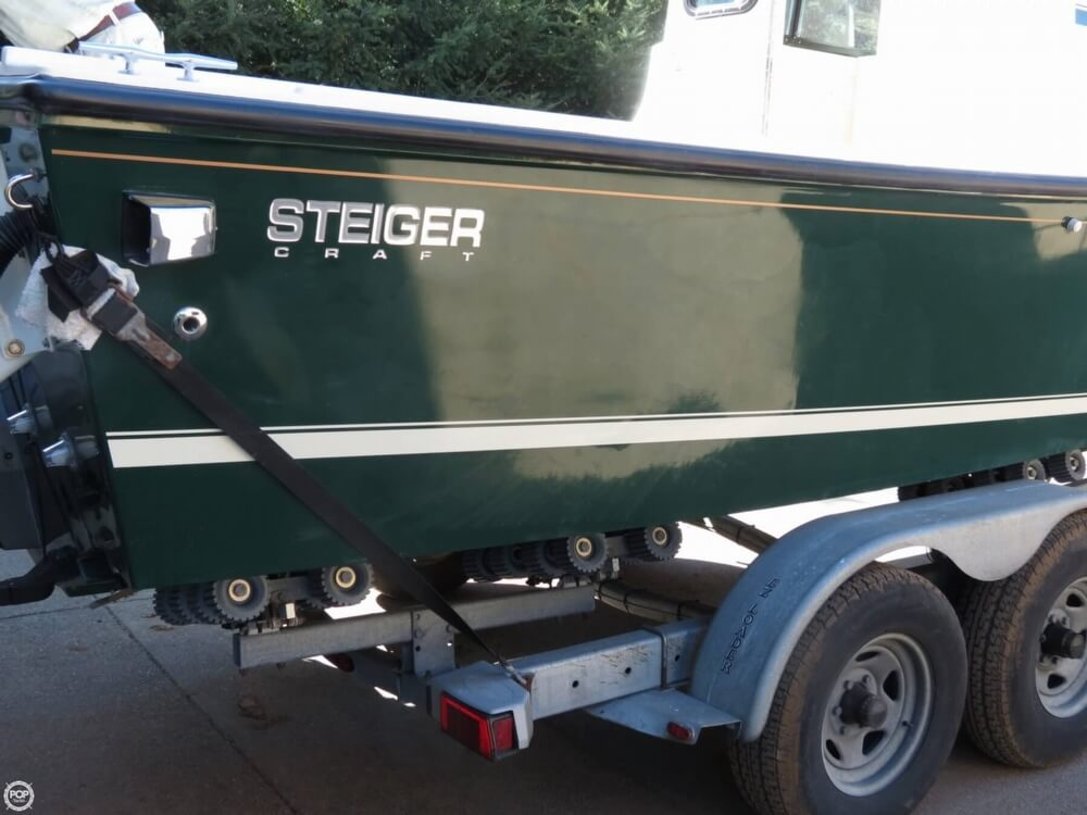 2005 Steiger Craft boat for sale, model of the boat is 23 Chesapeake & Image # 17 of 40