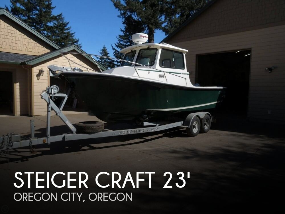 2005 Steiger Craft boat for sale, model of the boat is 23 Chesapeake & Image # 1 of 40