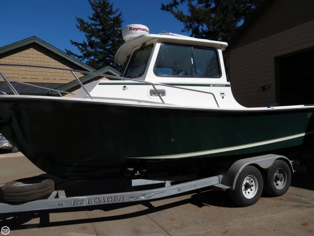 2005 Steiger Craft boat for sale, model of the boat is 23 Chesapeake & Image # 2 of 40