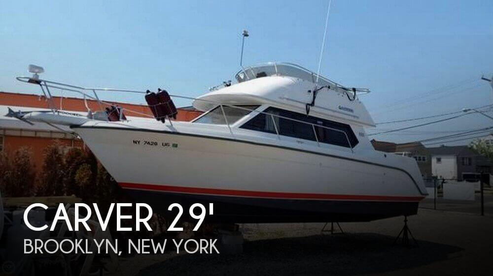 Used Carver Boats For Sale in New York by owner | 1992 Carver 29