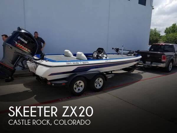 Used Boats For Sale in Boulder, Colorado by owner | 2013 Skeeter ZX20