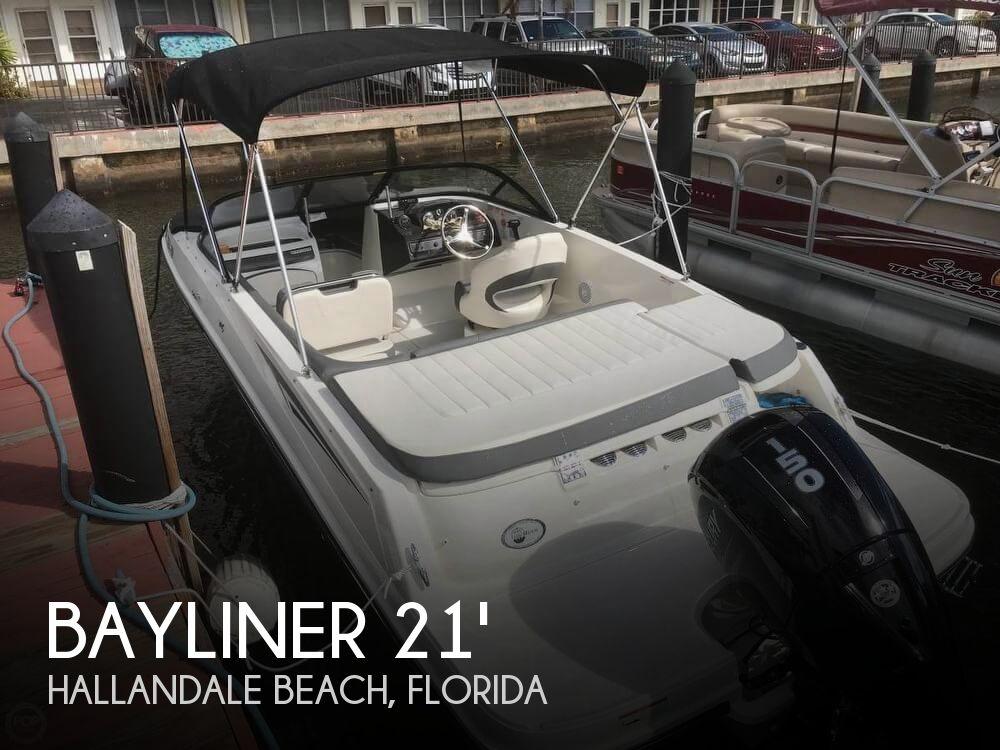 Used Bayliner Deck Boats For Sale by owner | 2018 Bayliner VR5 Deckboat