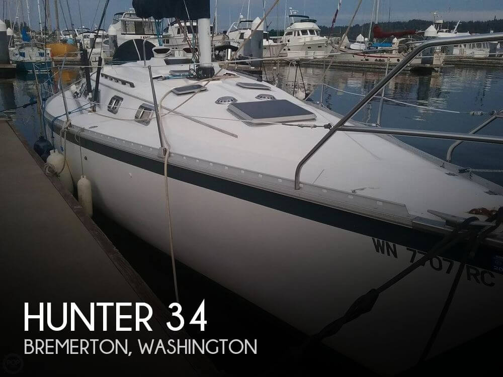 Used Hunter Sailboats For Sale in Washington by owner | 1983 Hunter 34