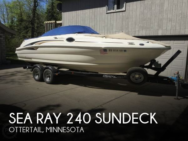 Used Boats For Sale in Fargo, North Dakota by owner | 2001 Sea Ray 24