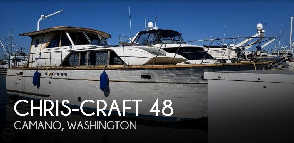 Used Chris-Craft Motoryachts For Sale by owner | 1967 Chris-Craft 48