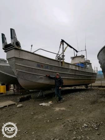 1980 Hydraulic Fishing boat for sale, model of the boat is 36 & Image # 5 of 6