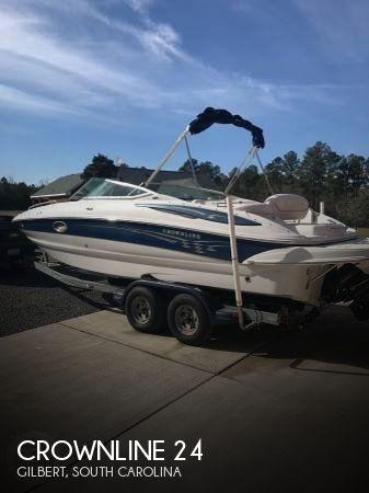 Used Deck Boats For Sale in South Carolina by owner | 2006 Crownline 24