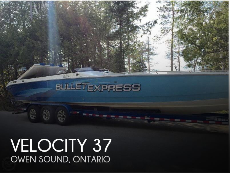 2010 Velocity boat for sale, model of the boat is 37 Midcabin & Image # 1 of 12