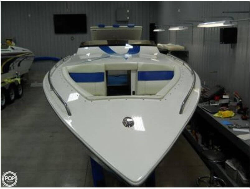 2010 Velocity boat for sale, model of the boat is 37 Midcabin & Image # 2 of 12