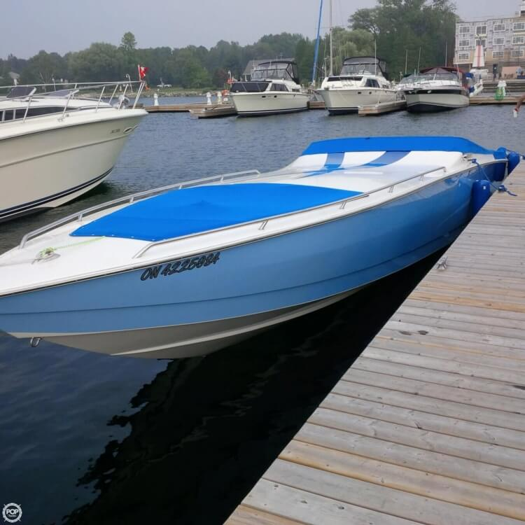 2010 Velocity boat for sale, model of the boat is 37 Midcabin & Image # 9 of 15