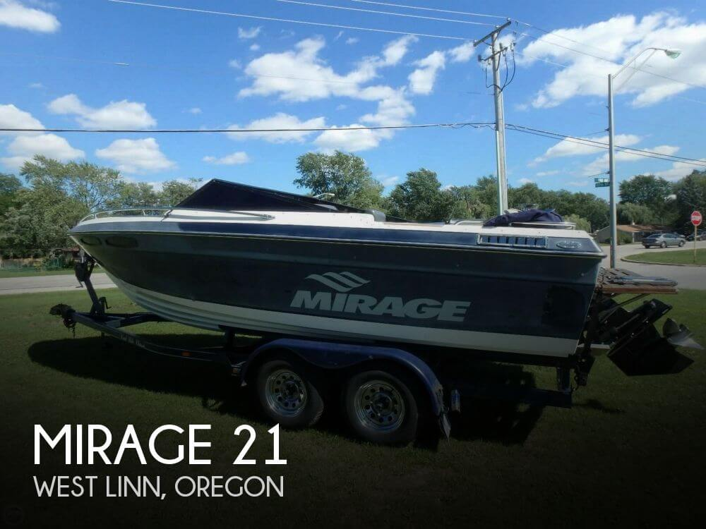 Used Mirage Boats For Sale by owner | 1989 Mirage 21