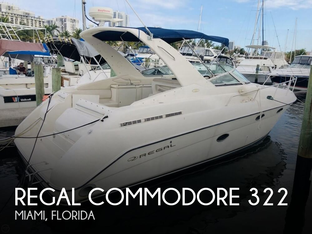 Used Regal COMMODORE 322 Boats For Sale by owner | 1997 Regal COMMODORE 322