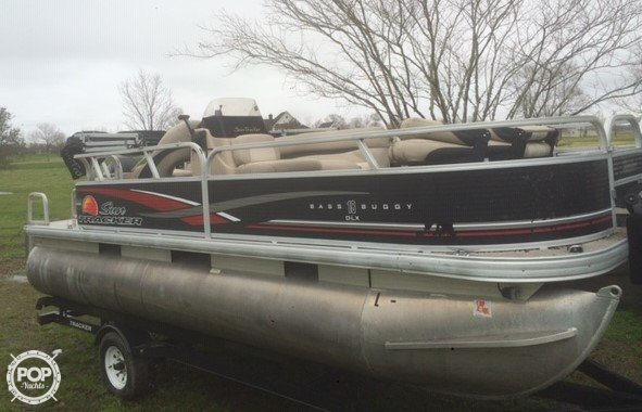 Fishing Pontoon Boats For Sale >> Tracker 18dlx Bass Buggy Boat For Sale In Vidalia La For 15 900