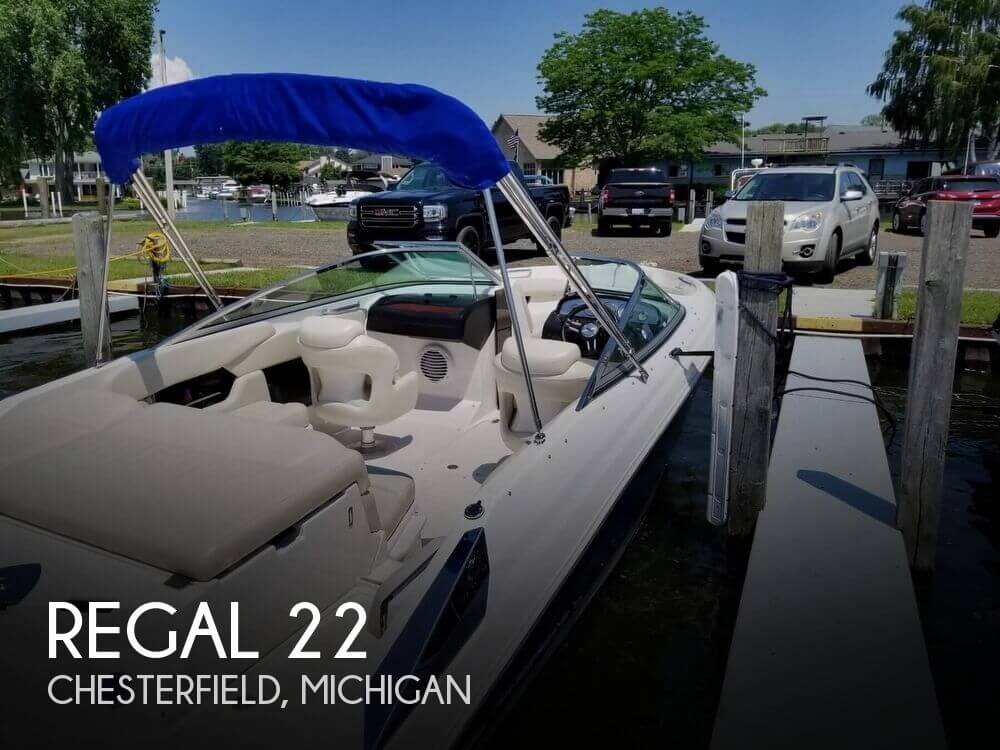 Used Regal Boats For Sale in Michigan by owner | 2008 Regal 22
